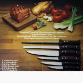 Dansk Gourmet Designs Ltd, Knivkollektion, annons, 1974